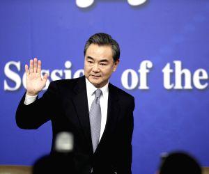 CHINA BEIJING NPC FM PRESS CONFERENCE