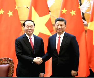 CHINA BEIJING XI JINPING VIETNAM TALKS