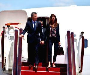 CHINA-BELT AND ROAD FORUM-ARGENTINEAN PRESIDENT-ARRIVAL