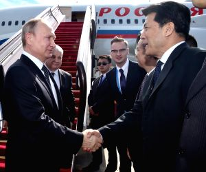CHINA BEIJING RUSSIAN PRESIDENT ARRIVAL