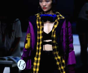 CHINA-BEIJING-GRADUATE FASHION WEEK