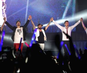 #CHINA-BEIJING-BACKSTREET BOYS-CONCERT