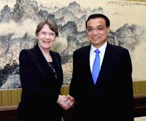 CHINA BEIJING LI KEQIANG UN GUESTS MEETING