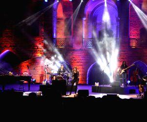 LEBANON BEIRUT BEITEDDINE ART FESTIVAL CARLA BRUNI PERFORMANCE