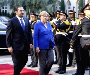Merkel voices support for Lebanon's reforms