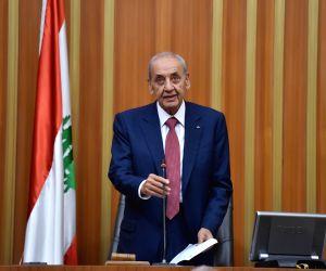 LEBANON-BEIRUT-PARLIAMENT-NEW SPEAKER