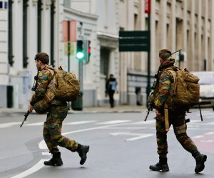 BELGIUM BRUSSELS TERRORIST THREAT ALERT HIGHEST