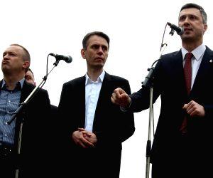 SERBIA BELGRADE ELECTIONS PROTEST