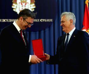 SERBIA BELGRADE NEW PRESIDENT