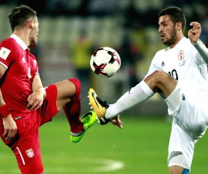 SERBIA-BELGRADE-FOOTBALL-WORLD CUP QUALIFIER-SERBIA VS GEORGIA