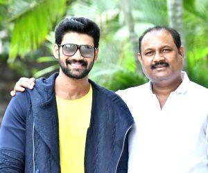 Director Bellamkonda Suresh and Srinivas pressmeet