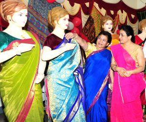 Bhavana inaugurates Mysore Silk Saree Exhibition