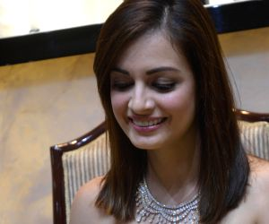 Dia Mirza during the inauguratation of a jewellery store