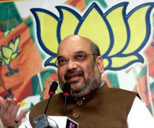 BJP press conference - Amit Shah