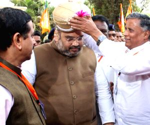 Amit Shah at BJP membership review
