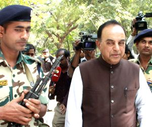 Subramanian Swamy at Karnataka High Court