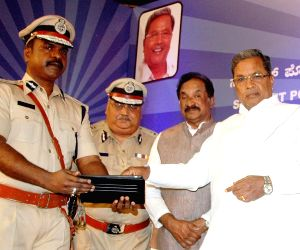Siddaramaiah during a programme