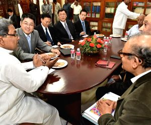 Le Yucheng calls on Karnataka CM
