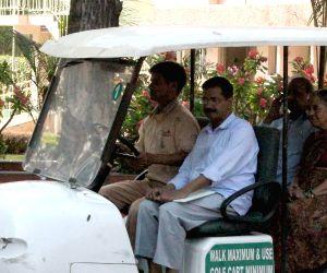 Jindal Naturecure Institute - Arvind Kejriwal