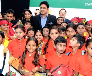 Anil Kumble during a programme