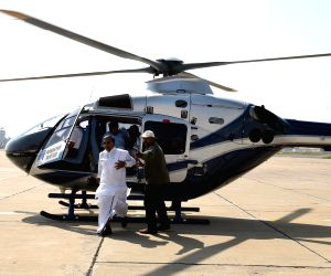 Karnataka CM's helicopter caught fire