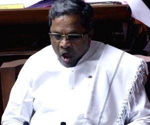 Siddaramiah in Karnataka assembly