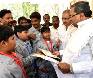 Karnataka CM felicitates winners of 14th International SKA Karate Championship