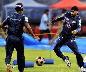 Mumbai Indians - practice session