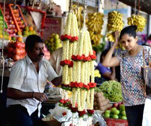 Ugadi festival - shopping