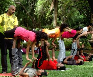 'Yoga' at Cubbon Park