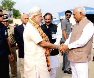 PM Modi at HAL Airport