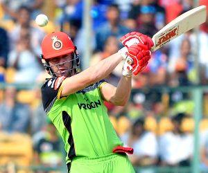Bengaluru: Royal Challengers Bangalore's AB De Villiers in action during the 20th match of IPL 2019 between Delhi Capitals and Royal Challengers Bangalore at M.Chinnaswamy Stadium in Bengaluru on April 7, 2019. (Photo: IANS)