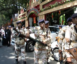Security beefed in Bengaluru in the wake of BJP National Executive meeting