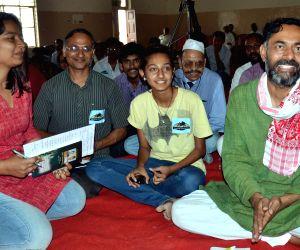 Yogendra Yadav during Swaraj Abhiyan programme