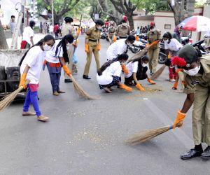 Bengaluru: Swaccha Koramangla campaign
