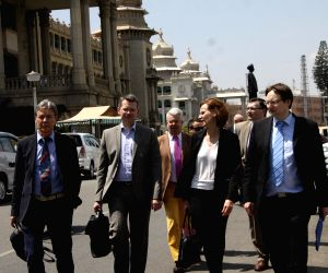 German delegation visits Vidhan Soudha