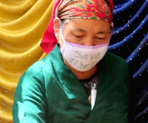 Tibetan Youth Congress demonstration