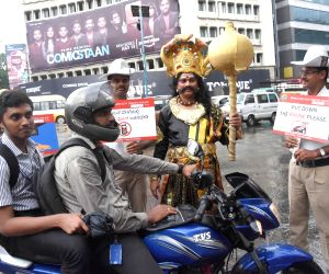 Traffic awareness campaign - Bengaluru Police