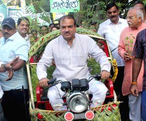 Ananth Kumar plants a sapling on World Environment Day