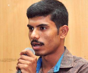 Vittala Malekudiya during a press conference
