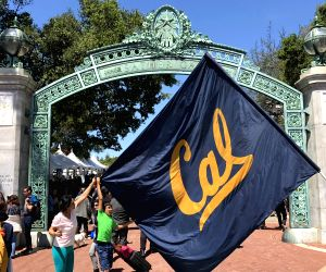 BERKELEY, April 22, 2018 - People attend the Cal Day event at the University of California, Berkeley Campus in Berkeley, California, the United States, on April 21, 2018.