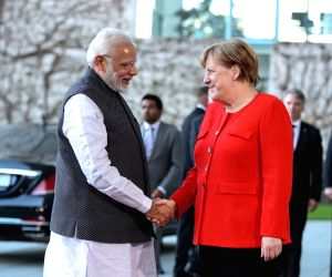 GERMANY-BERLIN-INDIA-PM-VISIT