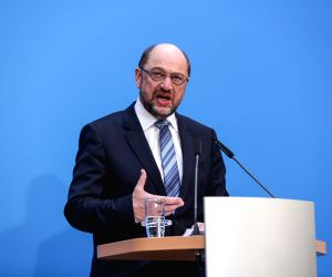 GERMANY BERLIN COALITION TALKS AGREEMENT