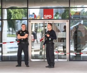 GERMANY BERLIN SPD EVACUATION