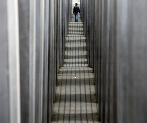 GERMANY BERLIN HOLOCAUST MEMORIAL 10TH ANNIVERSARY