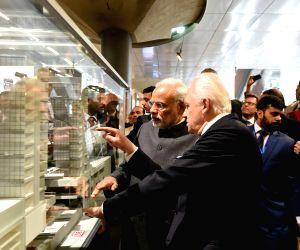 PM Modi visits Hauptbahnhof Railway Station