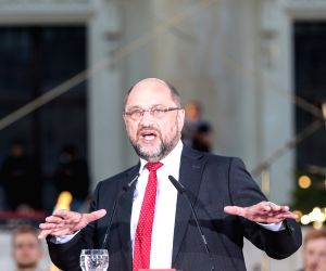 GERMANY-BERLIN-SPD-SCHULZ-ELECTION RALLY