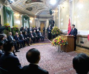 SWITZERLAND CHINA XI JINPING VISIT
