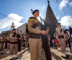 MIDEAST-BETHLEHEM-ORTHODOX-CELEBRATIONS