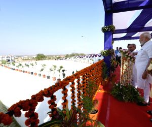 Bhachau (Gujarat): Modi inaugurates pumping station for releasing Narmada waters into Tappar Dam